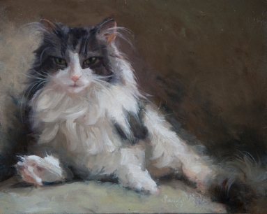 Study of Lily $885 (8x10 oil on panel). sweet little Lily.